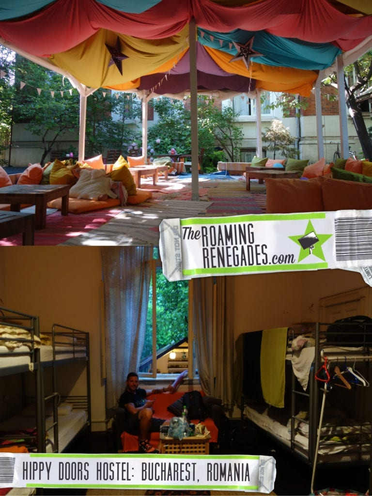 Doors Hostel Bucharest: A hippy paradise in this beautiful city! > https://theroamingrenegades.com/2016/10/doors-hostel-bucharest.html