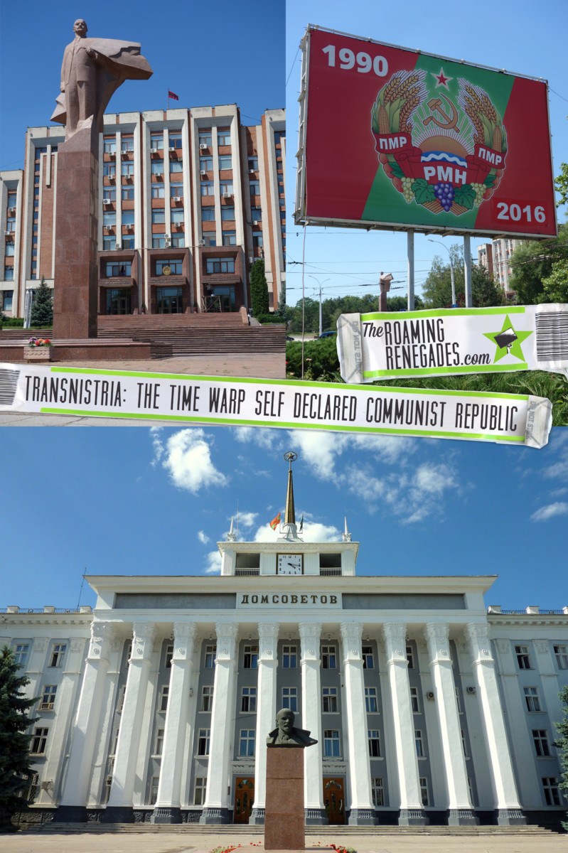 Entering the mysterious world of Transnistria: The time warp self declared Communist Republic between Moldova and Ukraine!> https://theroamingrenegades.com/2016/10/communist-republic-transnistria.html