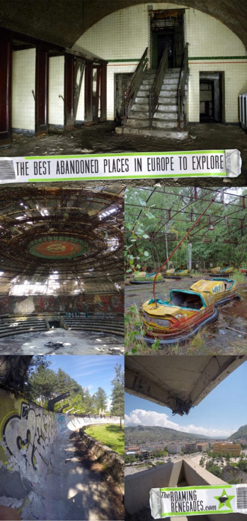 The most eerie, impressive and moving abandoned places to explore in Europe > https://theroamingrenegades.com/2016/11/abandoned-places-explore-europe-urbex.html