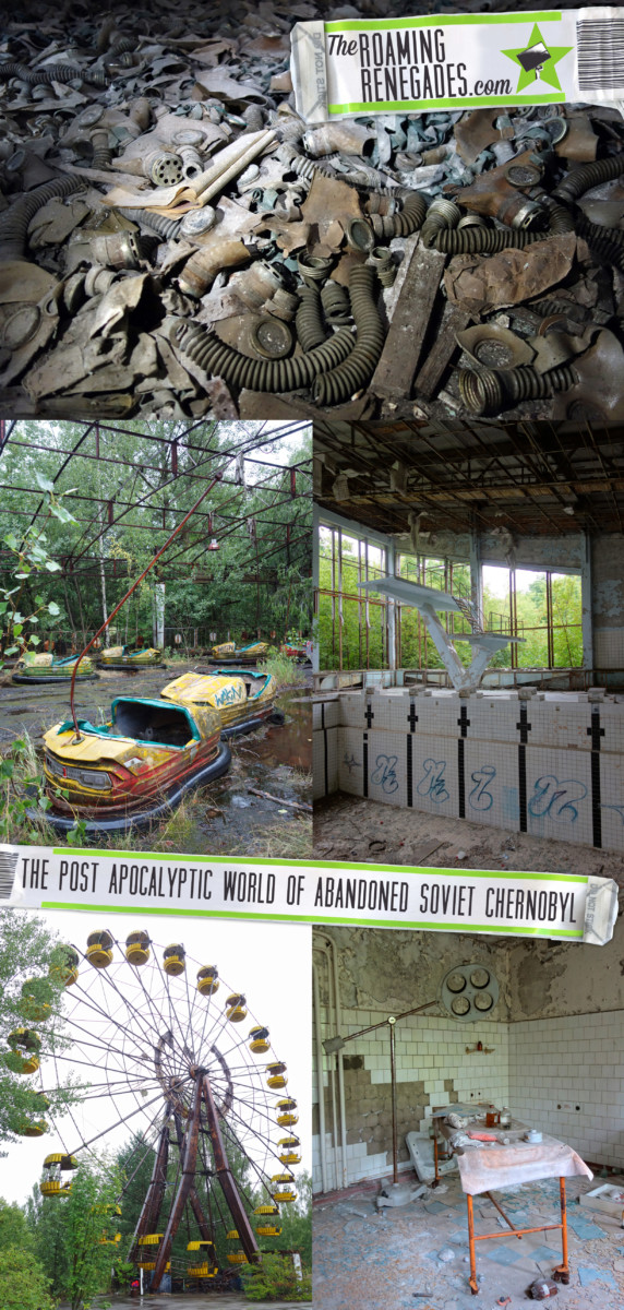 Delving into the post apocalyptic world of abandoned soviet Chernobyl. 30 years on we visit our UrbEx dream! > https://theroamingrenegades.com/2016/11/post-apocalyptic-chernobyl-urbex.html