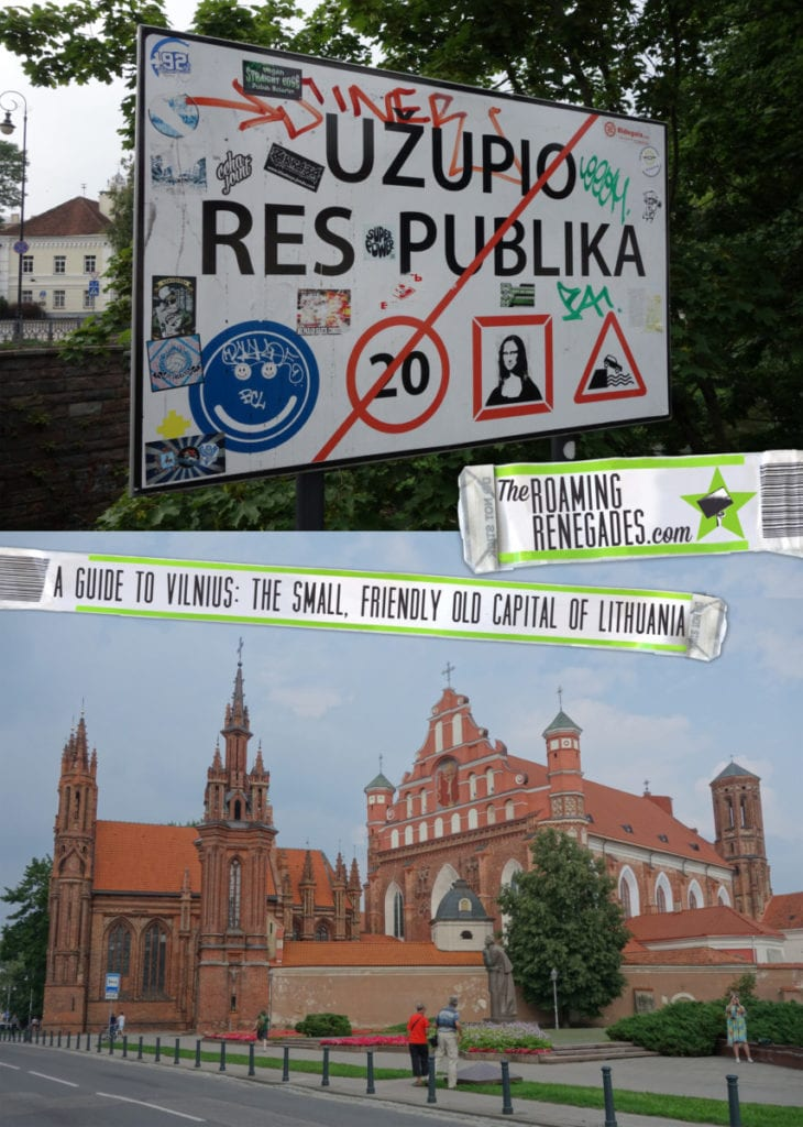 A guide to Vilnius, the small, friendly old capital of Lithuania and our first stop in the Baltic's! > https://theroamingrenegades.com/2016/11/guide-vilnius-lithuania-baltic.html