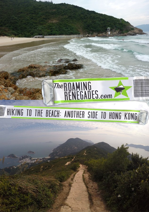Another side to Hong Kong: Hiking the Dragon's back ridge 龍脊 and heading to the beach! https://theroamingrenegades.com/2017/01/dragon-back-trail-hong-kong.html
