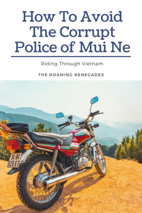 How to Avoid the Corrupt Traffic Police of Mui Ne
