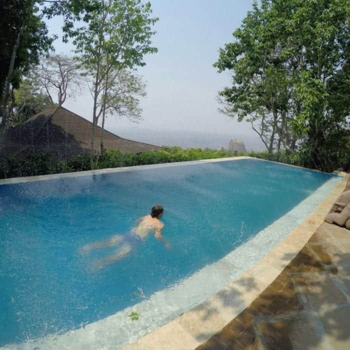 Popa Mountain Resort: A serene and relaxing escape with breathtaking views, Myanmar, bagan, hotel, luxury, Mt Popa, swimming pool, infinity pool, relax, Burma,