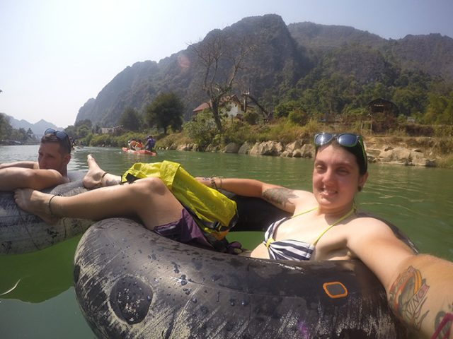 Tubing in Vang vieng, Vang vieng tubing, Tubing in Vang Vieng: Why this wonderful way to see this beautiful town doesn't need to be marred with debauchery and drunkenness, tubing Vang Vieng, activities Vang Vieng, adventure, river, kayak, prices, tuk tuk, how much is tubing in Vang Vieng, drunk, bars, death, backpackers, mountains, peaceful, how much does tubing in Vang Vieng cost, Where is the tubing in Laos, how to get to the tubing in Vang Vieng, vang vieng tubing rainy season, Tubing Laos, tubing South East Asia, how to do the tubing in Vang Vieng, real backpackers vang vieng, vang vieng laos tubing, vang vieng backpackers, vang vieng party, vang vieng kayaking, what to see in vang vieng, vang vieng things to do, where to go in, vang vieng, what is tubing, Vang vieng adventure activities, vang vieng backpacker