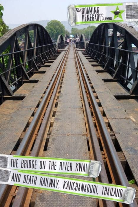 "An emotional visit to the Death Railway of Kanchanaburi, the infamous ""Bridge on the River Kwai"", Thailand :  https://theroamingrenegades.com/2017/06/bridge-on-the-river-kwai-kanchanaburi-thailand.html"