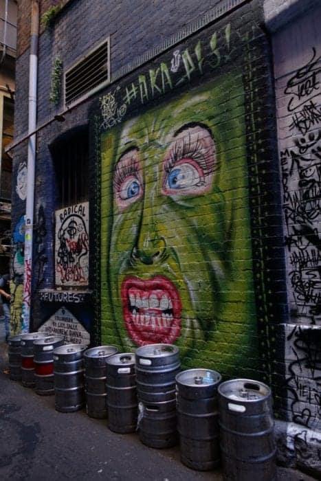 Melbourne street art, Where to see Melbourne's Best Street Art: Australia's most vibrant city, graffiti, street art, Laneway, Hosier lane, Rutledge lane, ACDC lane, Union lane, centre place, Melbourne street art, Melbourne laneways, lane way, Australia, Alternative, counter culture, protest, art, culture,