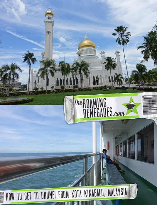 How to get to Brunei from Kota Kinabalu: Heading over to this little visited nation on Borneo, Miri, Malaysia, Bandar Seri Begawan, bus, taxi, muara, ferry, express ferry, boat, coach, flight, guide, Kuching, How to get to Brunei, Brunei overland, Passport stamp, Visa, entry requirements