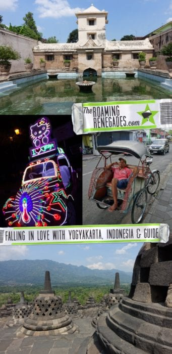 A guide to Yogyakarta, the historic heart of Java we fell in love with, Indonesia, Things to do in Yogyakarta, Things to do in Jogjakarta, What to do in Yogyakarta, yogyakarta indonesia, Alun-Alun Selatan Kraton, bling bling cars, tuk tuk, Walk Between the Twin Beringin Trees blindfolded, Setumbu Hill, Punthuk Mongkrong, Punthuk Sukmojoyo, Purwosari Hill, Jalan Malioboro, Beringharjo market, Water Castle, Taman Sari, Sumur Gumuling, Underground Mosque, Royal Palace, Borobudur, Prambanan, Mt Bromo, Mt Ijen, Bali, transport, getting to Mt Bromo from Yogyakarta, Mt Bromo tour Yogyakarta, Mt Ijen tour Yogyakarta, Getting to Bali from Yogyakarta,