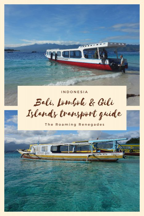 How to get to the paradise islands of Java, Bali, Lombok and the Gilis