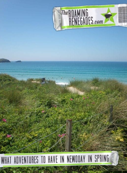 What adventures await in Newquay, Cornwall in the spring, things to do in Cornwall, what to do in Cornwall, adventures in Newquay, what to do in Newquay, things to do in Newquay in the summer,