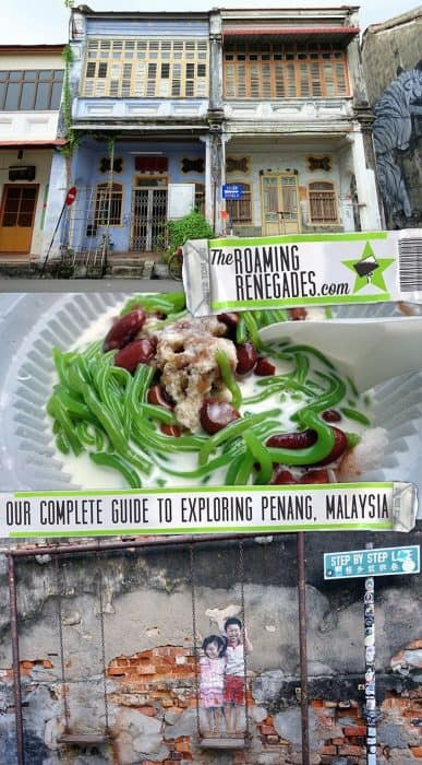Penang Itinerary: What to do in Penang in 3 days. A Guide to this Beautiful & Historic Town in Malaysia, Blue Mansion, Chinese shop fronts, Street Art, Murals, Wire Sculpture, Chulia Street, Campbell Street, Love Lane, King Street, Carnarvon Street, Pitt Street, architecture, Pinang Peranakan Museum, Harmony Street, Jalan Kapitan Keling, Masjid Kapitan Keling, St. George's church, Taoist Goddess of Mercy Temple, Hindu, Mosque, Wat Chayamangkalaram, Khoo Kongsi Clan House, Snake Temple, Temple of the Azure Cloud, Sri Mahamariamman Temple, Kek Lok Si Temple, Air Itam mountain, Penang Hill, Bukit Bendera, Batu Ferringhi Beach, Clan Jetty, Local life in Penang, Chulia Street street food stalls, food to try in Penang, Malaysia, Little India, Thali NR Sweets, Vegetarian food in Penang, Cendol, Char Koay Teow, Asam laksa, Wantan Noodles,