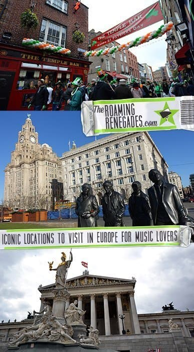 Iconic locations around Europe to visit as a music lover from Beethoven to the Beatles!