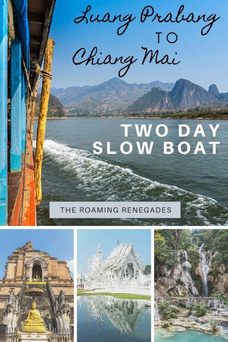 The Amazing Chiang Mai to Luang Prabang Slow Boat: