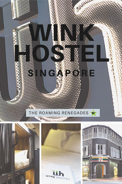 Wink Hostel: The best hostel in Singapore