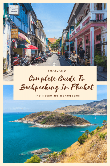 (Phuket backpacking guide, budget Phuket, Phuket backpacker, Backpackers guide to Phuket, Phuket backpacker hostel, Best area to stay in Phuket, backpacking Thailand)