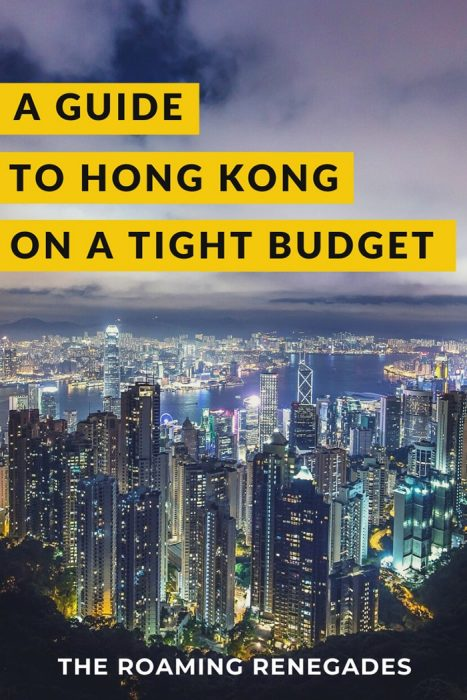 Backpacking in Hong Kong for backpackers, Backpackers guide to Hong Kong, Hong Kong on a budget trip